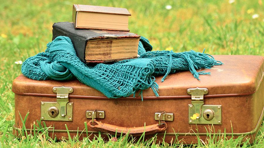 чемодан со старьем