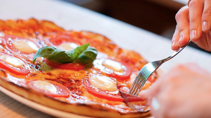 как заставить себя мало есть пицу