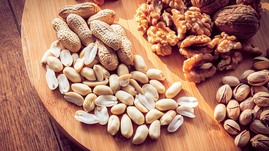 орехи содержащие фолиевую кислоту