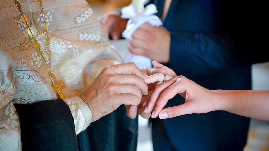 обручение на венчании