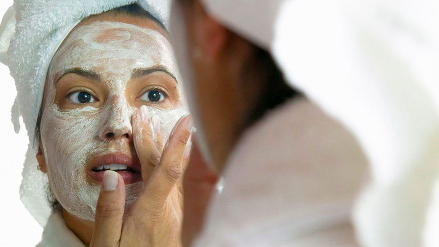 маска для лица из кефира