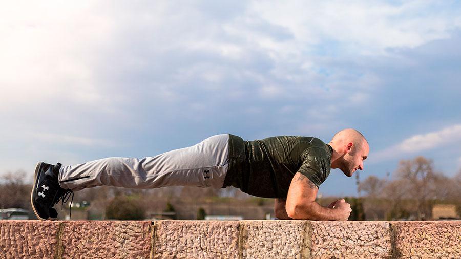 упражнение планка для восстановления мужской силы