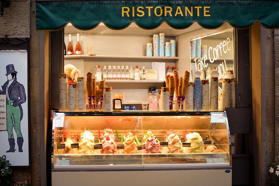 итальянский ресторан gelato