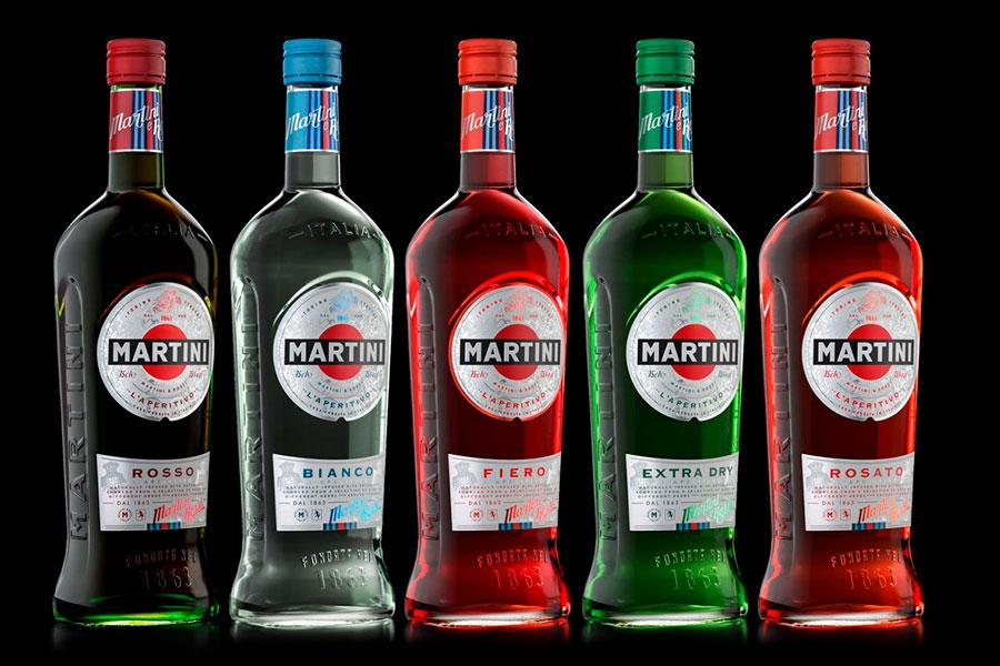 бутылка итальянского мартини