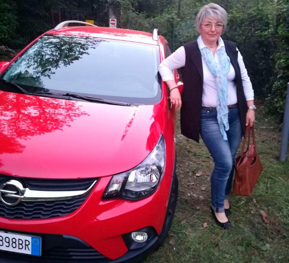 красная машина италия