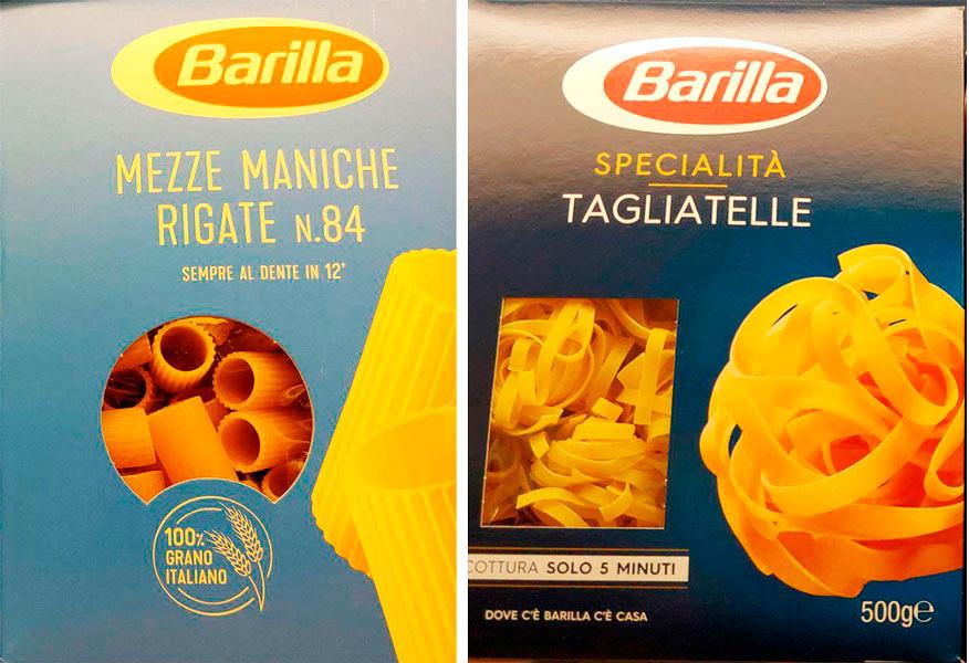 pasta barilla tagliatelle