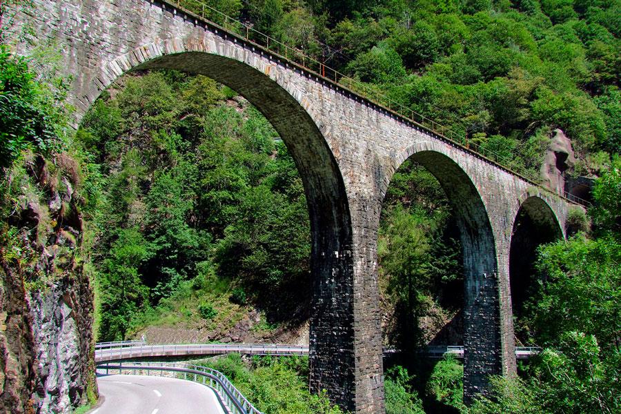 каменный мост италия альпы