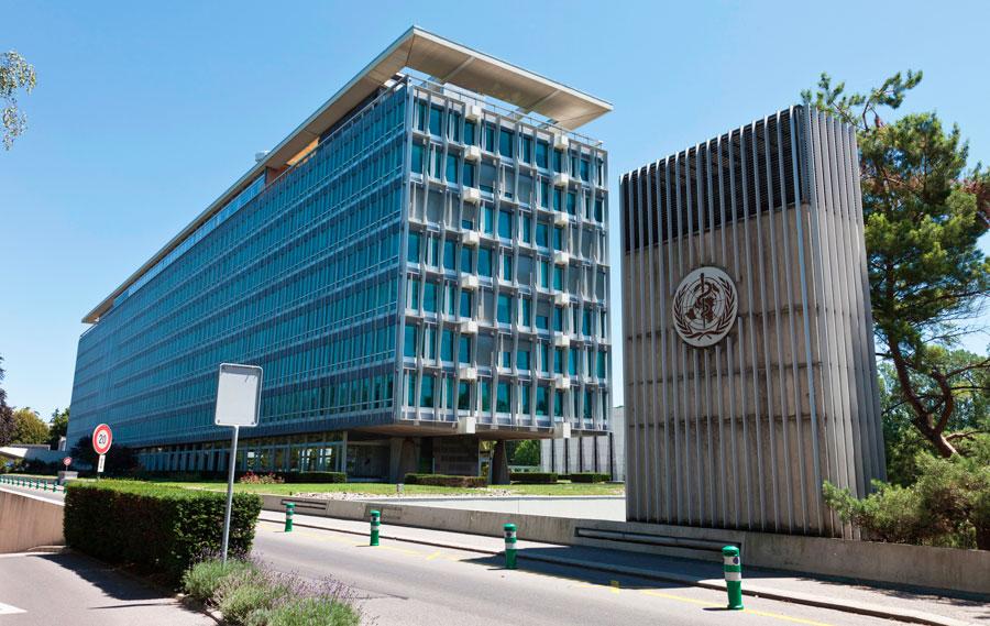штаб квартира ВОЗ Женева