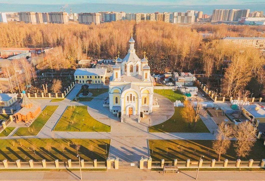 монастырь Киновии Александро-Невской Лавры