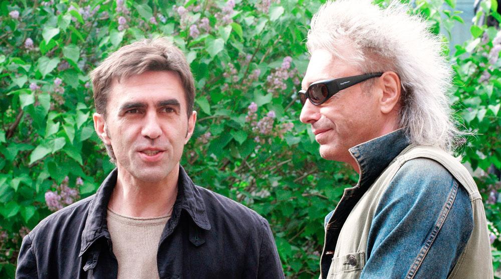 Вячеслав Бутусов и Константин Кинчев