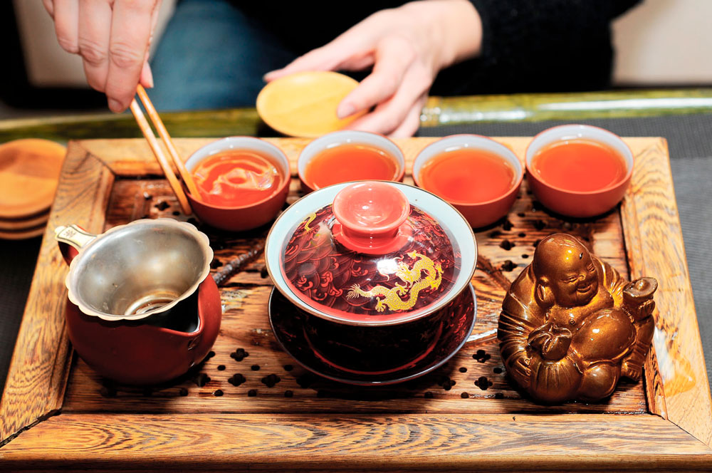 чайная традиция Китая