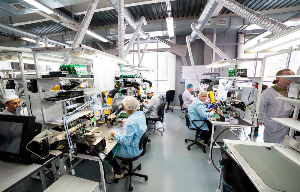 организованное рабочее место на заводе