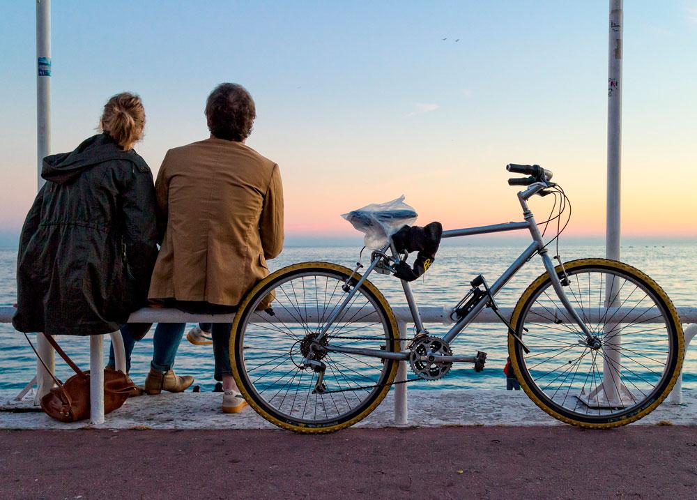 отдых, прогулка на велосипеде