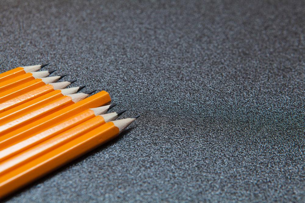 наточенные карандаши