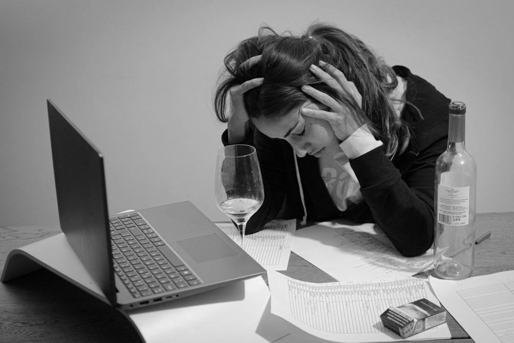 алкогольная зависимость от усталости