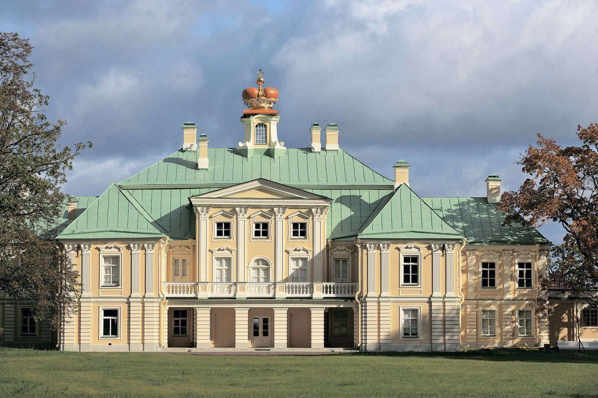 дворец Меншикова в Ломоносове