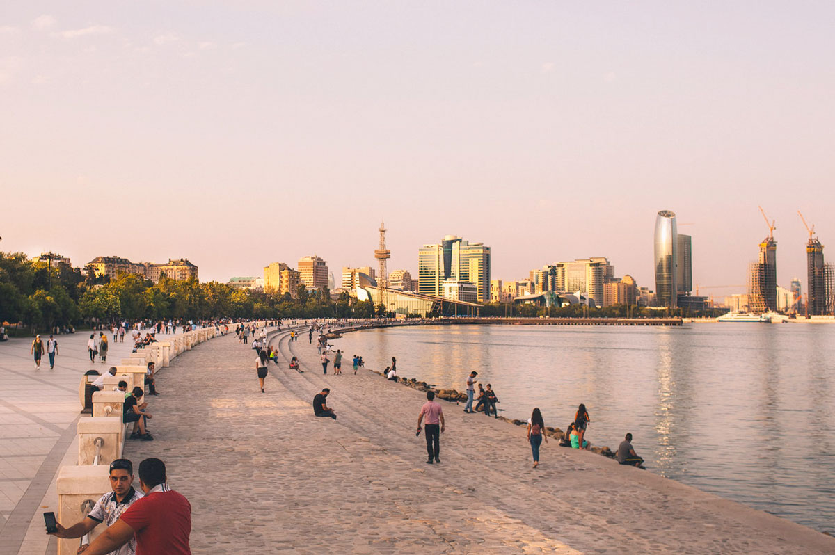 набережная Baku Азербайджан