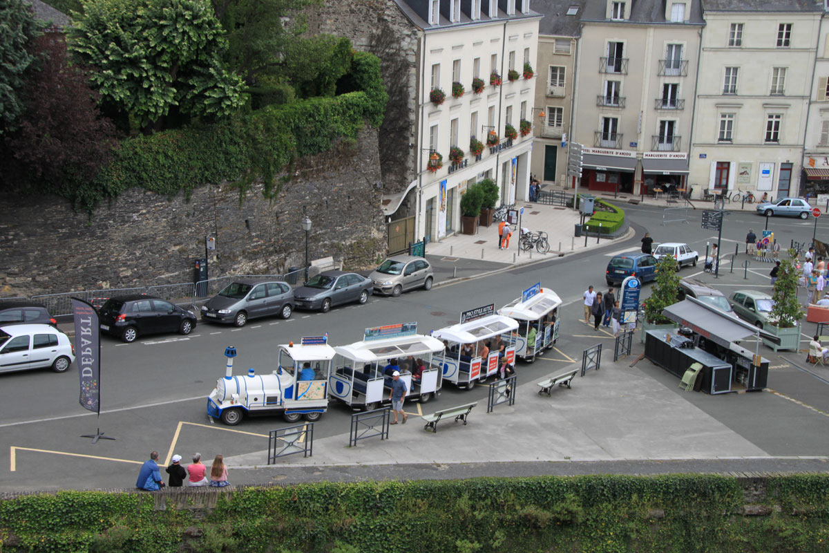 Франция Анже общий вид