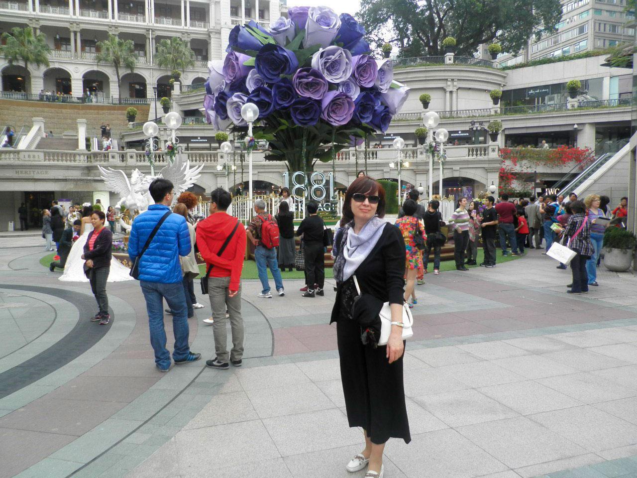 Гонконг площадь