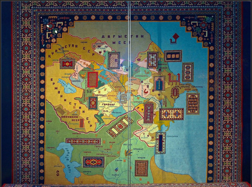 карта ковер