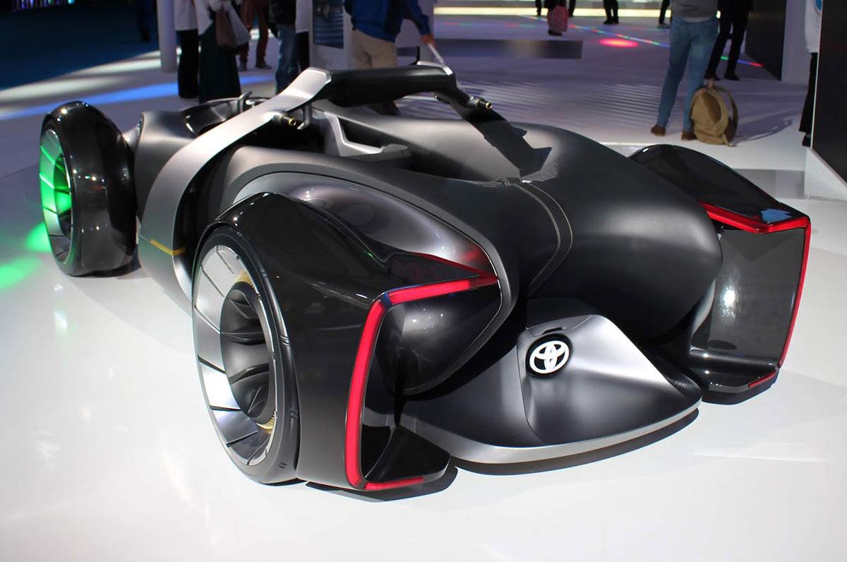 Toyota e-Racer концепт