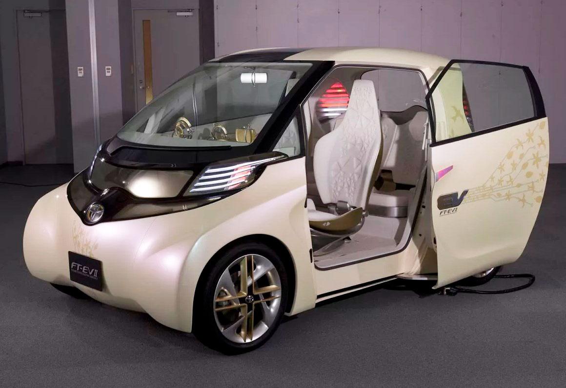 Toyota FT-EV II (Future Toyota Electric Vehicle II)