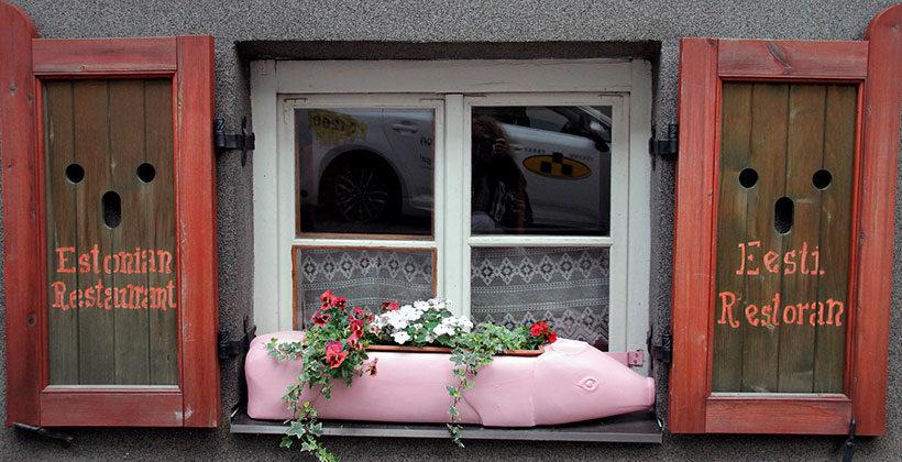 Таллин— красивейший город Прибалтики. Легенда про старичка из Юлемисте