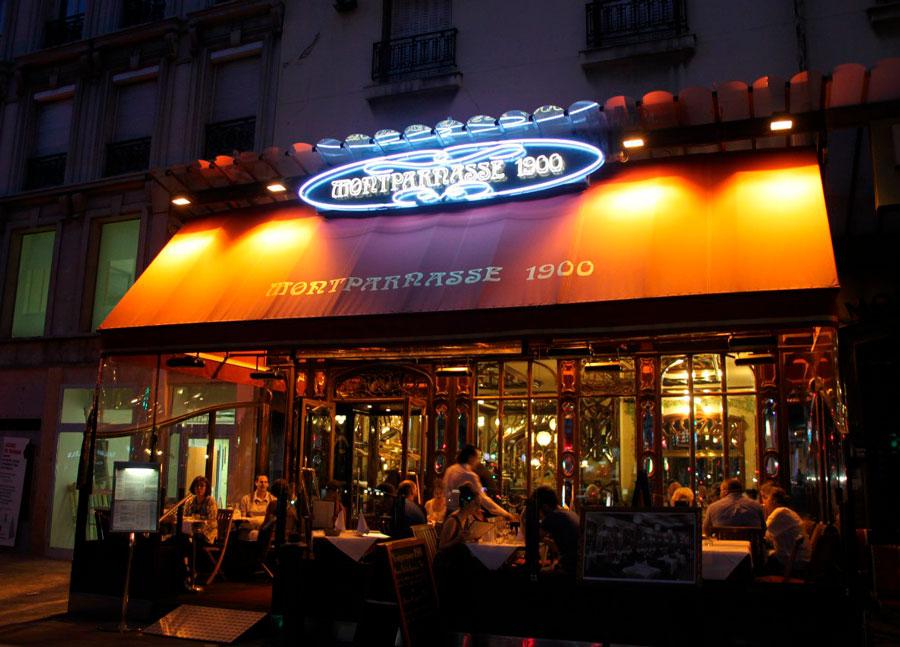 Знаменитый старинный ресторан Парижа