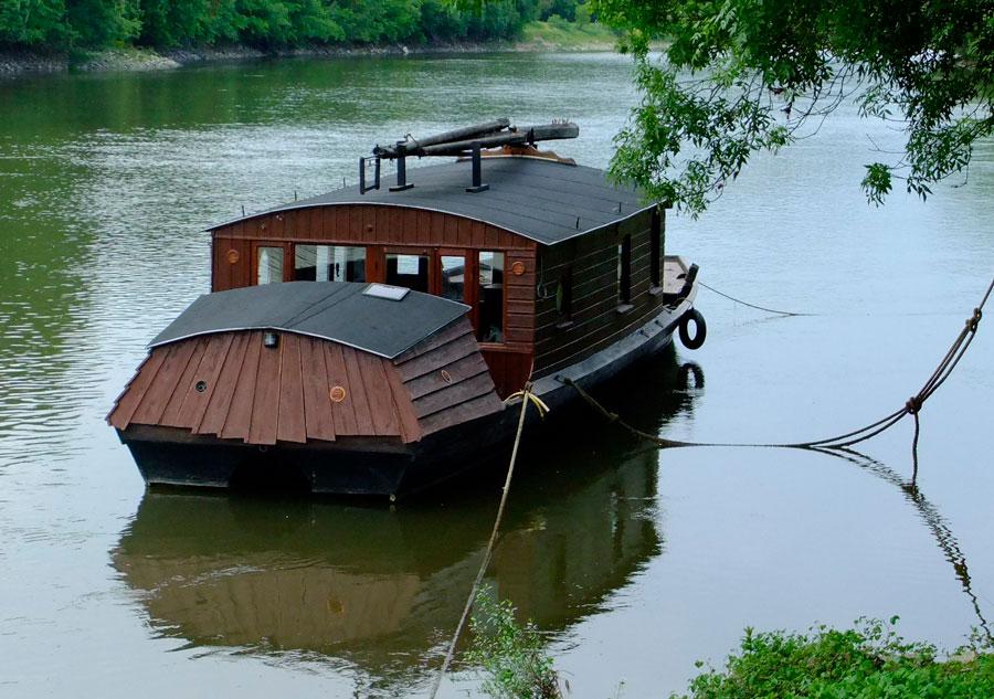 Такие лодки только на р. Луаре