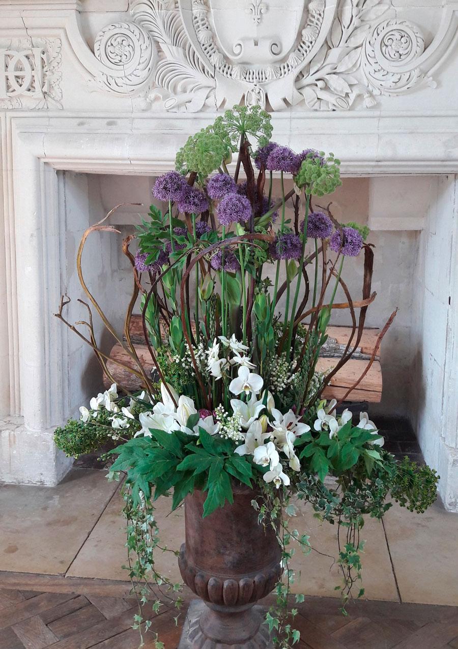 Цветы в замке Шенонсо